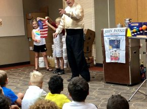 Magic Show In Oklahoma.